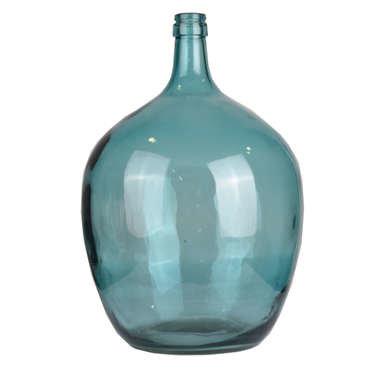Vase en verre JOHN coloris bleu