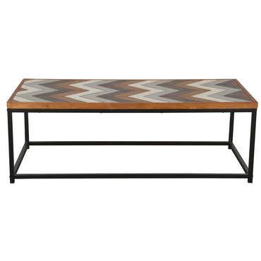 Table basse en bois massif KUTA