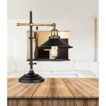 Lampe  DARWIN coloris noir