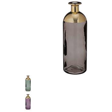 Vase en verre MOOD coloris assortis